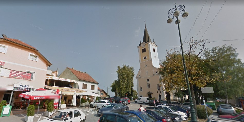 Sveti Ivan Zelina Town Centre at about 25minutes walk